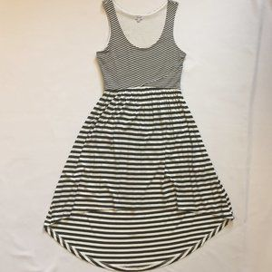Kismet High-Low/Mullet Striped Sleeveless Dress XS